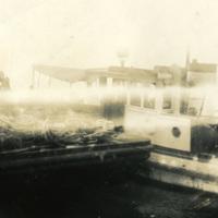 A docked boat