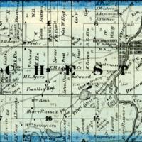 1873 Rochester Plat Map