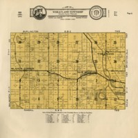 1934 Wheatland Plat Map