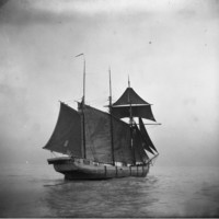 The schooner Blackhawk