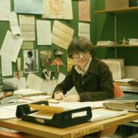 Librarian Carla J. Stoffle