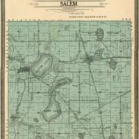 1908 Salem Plat Map