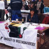 Black Student Union at organization fair
