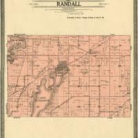 1908 Randall Plat Map