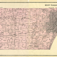 1899 Mount Pleasant Plat Map