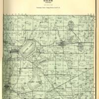 1924 Salem Plat Map