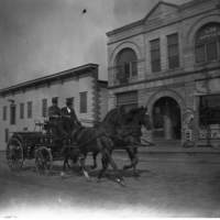 Kenosha Fire Department wagon and horse team