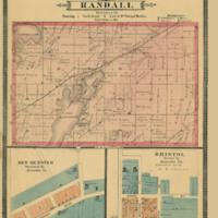 1887 Randall Plat Map