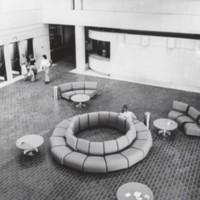 UW-Parkside student union atrium