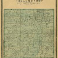 1887 Raymond Plat Map