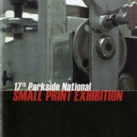 17th Parkside National Small Print Exhibition program cover