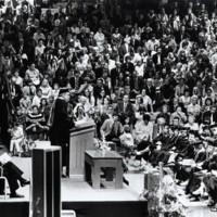 Commencement ceremony 1973