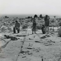 Archaeology field school at Paiute Kaibab Reservation