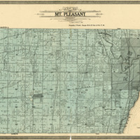 1908 Mount Pleasant Plat Map