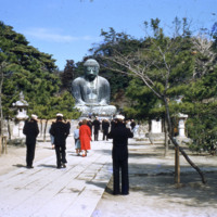 Sailors at the Great Buddha of Kamakura