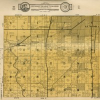 1934 Pleasant Prairie Plat Map