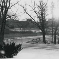Winter landscape at UW-Parkside