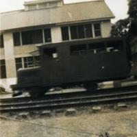 A single train car