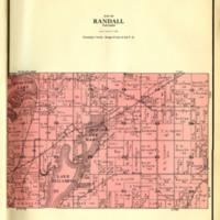 1924 Randall Plat Map
