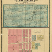 1887 Rochester Plat Map