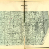 1924 Mount Pleasant Plat Map