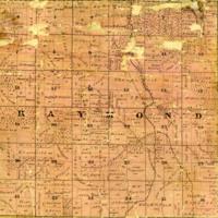 1858 Raymond Plat Map