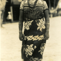 A young woman in traditional clothing