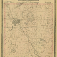 1887 Burlington Plat Map