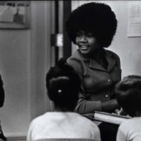 Student teacher Eileen Creer 1972