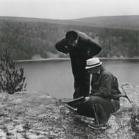 Earth science professors on Devil's Lake Field trips