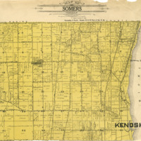1908 Somers Plat Map