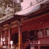 Exterior of shrine building at Nikko