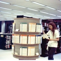 Guide rack at the Library Learning Center