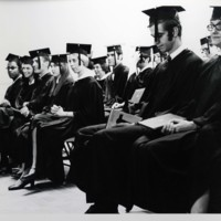 First UW-Parkside Commencement Ceremony, 1970