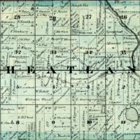 1873 Wheatland Plat Map