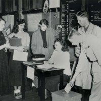Student election at Racine Center