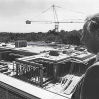 Construction on Wyllie Hall