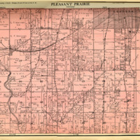 1924 Pleasant Prairie Plat Map
