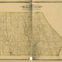 1887 Caledonia Plat Map