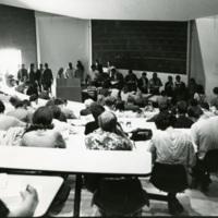 Student Registering 1969