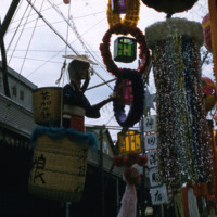 Tanabata Festival decorations