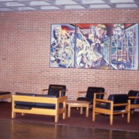 Wyllie Hall wall art