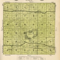 1934 Dover Plat Map