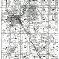 1915 Burlington Plat Map