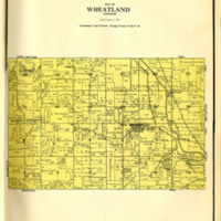 1924 Wheatland Plat Map