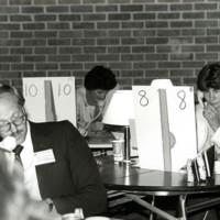 Phoneathon event in 1983