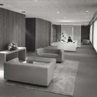 Chancellor's reception area in the UW-Parkside Library Learning Center