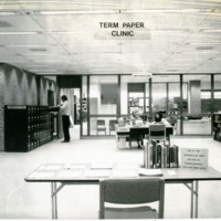 Term paper clinic in UW-Parkside library