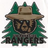 UW-Parkside Rangers logo with Ranger Bear