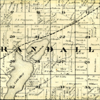 1873 Randall Plat Map